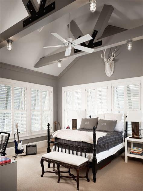 Graue Decke by Grey Walls Country Boy S Room Benjamin