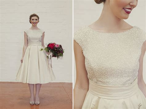 Vintage Wedding Dresses Perth by Vintage Tea Length Wedding Dress By Elvi Design Perth