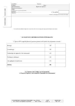 Biologie cap esthetique 4 - Document PDF