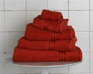 rust colored bath towels luxury 7 cotton towel set zen bedrooms