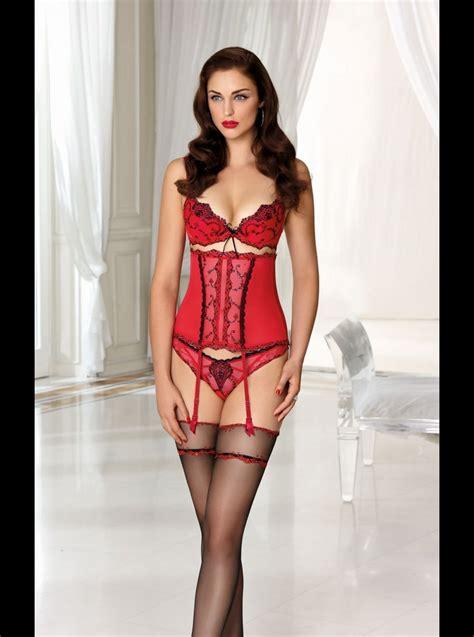 designer lingerie aubade bahia suspender belt luxury designer lise charmel apprivoise moi waspie suspender belt