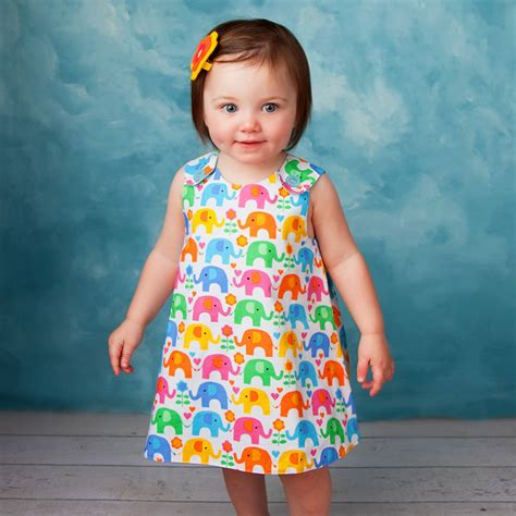 pattern dress child the perfect a line dress pattern baby and toddler classic