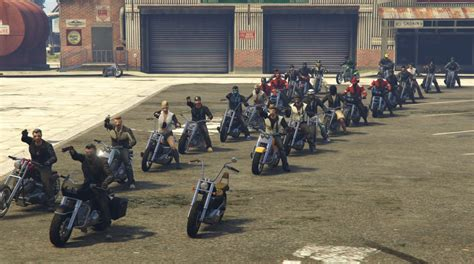 Motorcycle Clubs Meet Up : GrandTheftAutoV