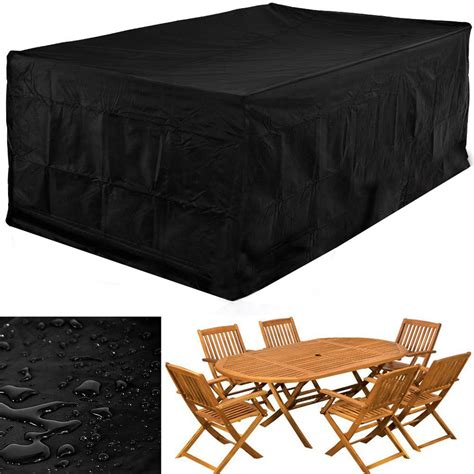 Patio Chair And Table Covers Covers by Waterproof Rectangular Garden Patio Furniture Covers 6