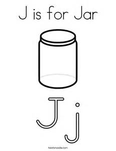 jar coloring page j is for jar coloring page twisty noodle