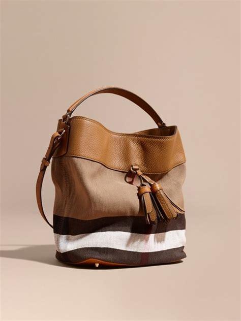 Tas Burberry 3 In 1 check handbags burberry