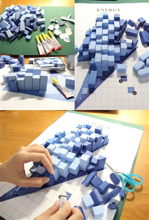 pattern energy news paper based 3d infographics pattern is crucial