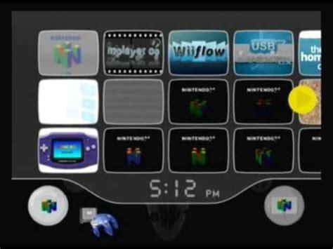 nintendo nes wii custom paint custom wii menu nintendo 64