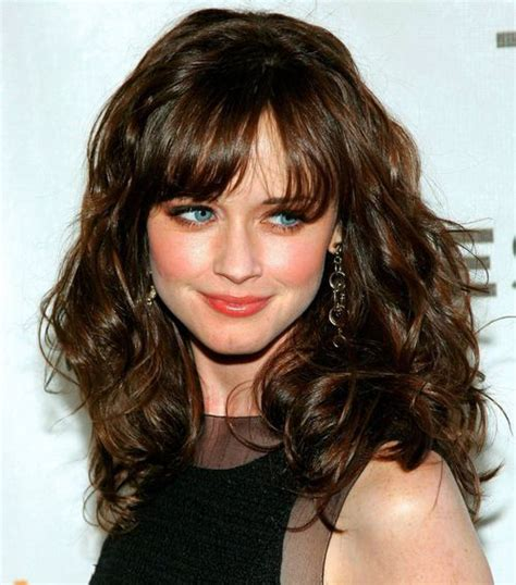 long hairstyles with bangs curly 15 curly hairstyles with bangs long hairstyles 2016 2017