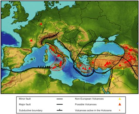 earthquake europe in relation to the plates in europe where are earthquakes