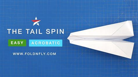 Fold N Fly Paper Airplanes - spiraling paper airplane the spin fold n fly my