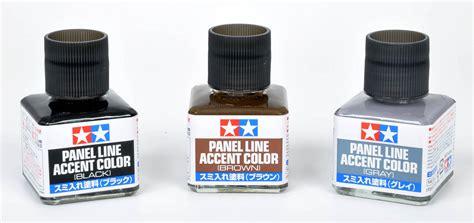 Tamiya Panel Accent Black Gundam Tools tamiya panel line accent colours black grey brown