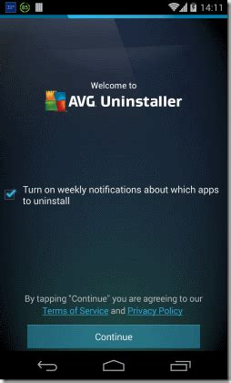 uninstaller android free android app to bulk uninstall android apps uninstaller from avg