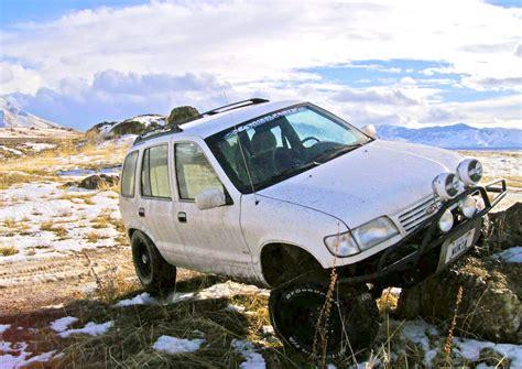 Lifted Kia Sportage Overlooked Roaders Sportage Sorento Crankshaft