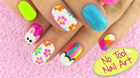 easy design tools diy nail without any tools 5 nail designs diy projects