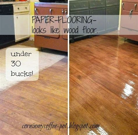 How To Make Paper From Wood - 25 best ideas about paper flooring on brown