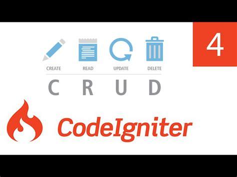 codeigniter tutorial in pdf operasi crud codeigniter menghapus data