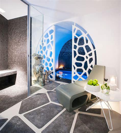 Greek Style Home Interior Design grohe grace santorini hotel amp villa europa hotels