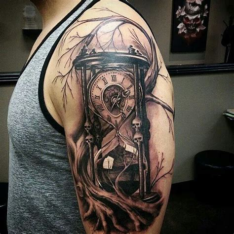 sanduhren part 01 roman clocks and hourglass tattoo