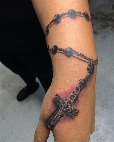 bead tattoos 10 holy rosary tattoos rosary holy