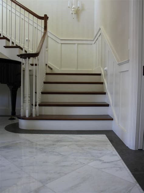 Marble Tile Entryway photos hgtv