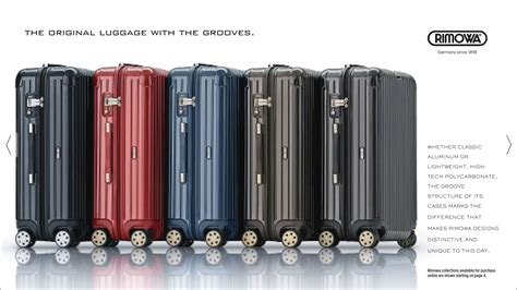 Rimowa Retailers by Devise A Customized Lookbook Featuring Rimowa Luggage