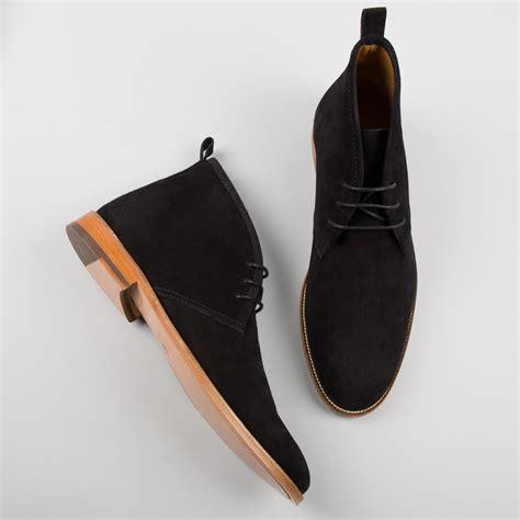 handmade black suede chukka boot chukka black