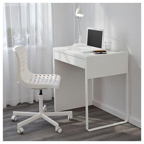 small white desk micke desk white 73x50 cm ikea