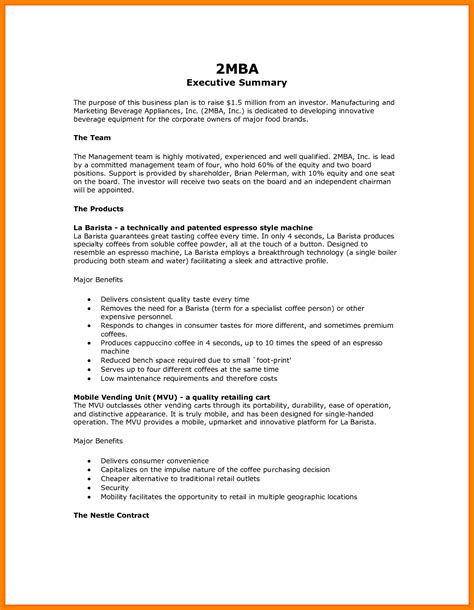 9 apa format executive summary template introduce letter