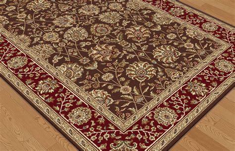 elegance rugs tayse elegance elg5338 brown rug