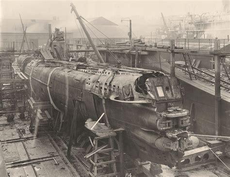 german u boats first world war photos from inside a captured first world war german u