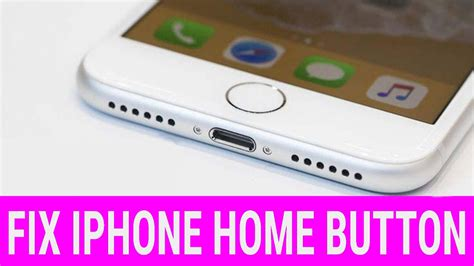 iphone home button  working   youtube