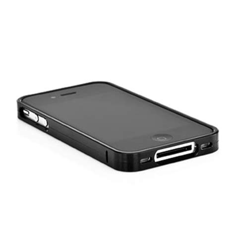 Capdase Bumper For Iphone 5s capdase alumor bumper for iphone 4s 4 black