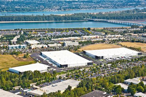 approval for logistics centre near portland international airport air cargo week