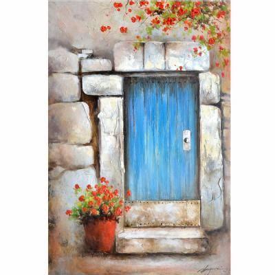 yosemite home decor 36 in x 47 in quot wave goodbye quot printed yosemite home decor 47 in x 32 in quot little blue door