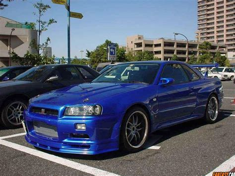 nissan r34 fast and furious pin conner s skyline r34 gt r auto car speed fast 2