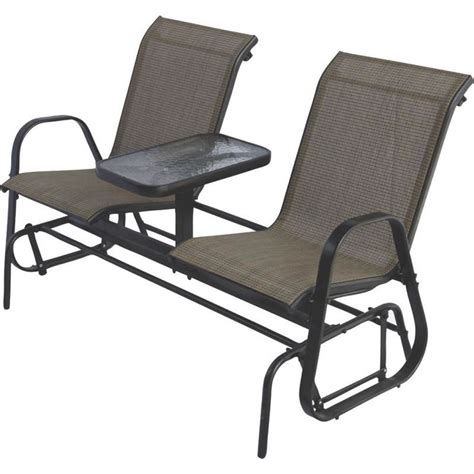 2 person armchair 2 person outdoor patio furniture glider chairs with