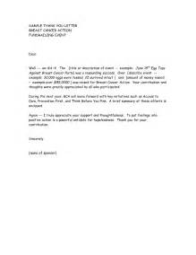 thank you letter for attending sports event