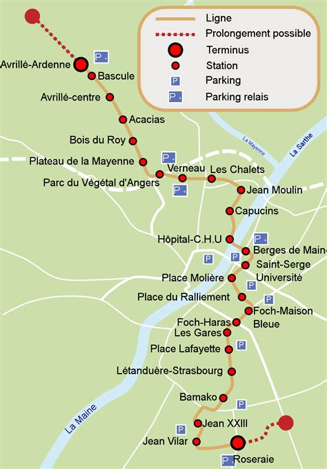 angers map angers map images
