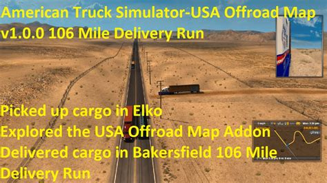map usa truck simulator american truck simulator usa offroad map v1 0 0 106 mile