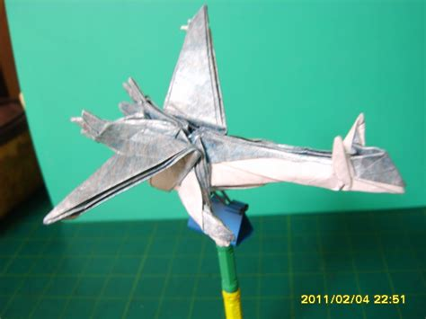 origami from gold silver ruby sapphire
