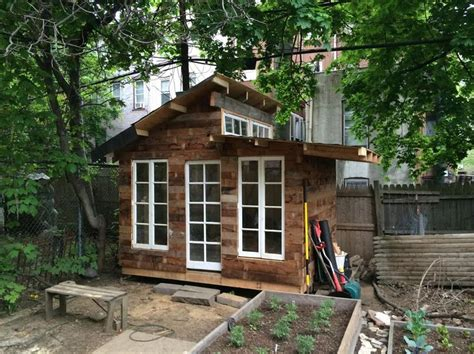 backyard tea shed in clinton hill