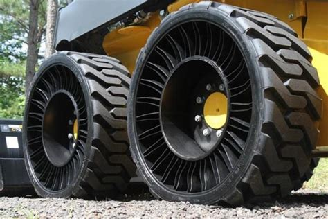 New Car Tires Without Air Wordlesstech Michelin X Tweel Airless Tires Go Into
