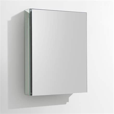 Wide Medicine Cabinet Fresca 20 Quot Wide Bathroom Medicine Cabinet W Mirrors