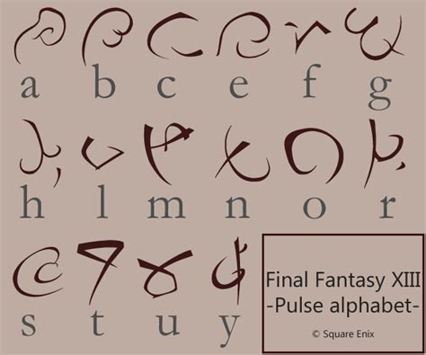 final fantasy 13 pulse font by rockstarremix on deviantart