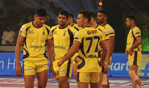 telugu titans team photos in 2018 telugu titans vs up yodha live streaming pro kabaddi 2017