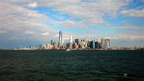 new york city daytime landscape new york city with its