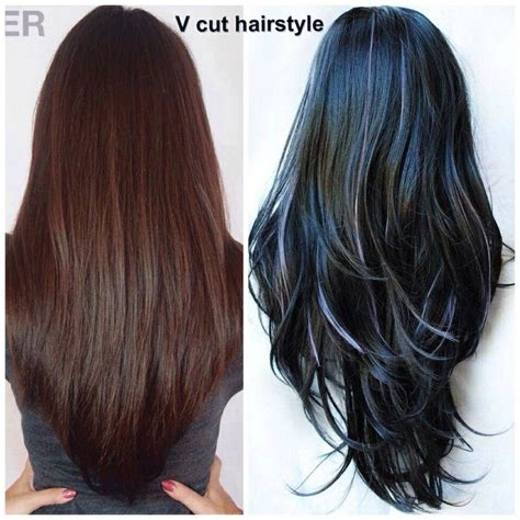 long v cut hairstyle pictures intended for invigorate stripper v cut google search hair pinterest long