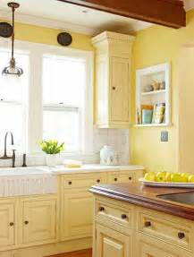 What Color Kitchen Table With White Cabinets Cuisine Jaune D 233 Coration Cuisine Jaune