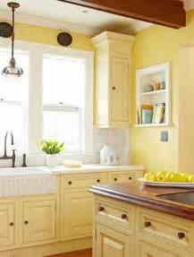 kitchen cabinets styles and colors cuisine jaune d 233 coration cuisine jaune